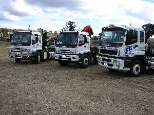 We have several new crane trucks available, here are some of our best ones